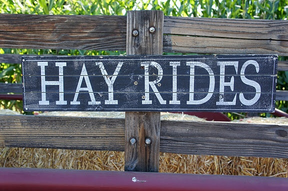 Oh yes, we had many a hay ride in our day.  Still enjoy them today.