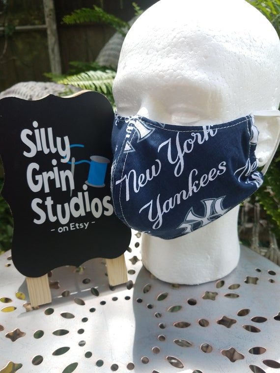 Cotton Face Mask Ny Yankees Germ Mask Groomer Accessories Etsymktgtool Flumask Mask Groomermask Surgicalmask Healthcarema Allergy Mask Face Mask Silly