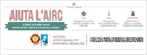 Rotaract Club Pescara: oggi Passaggio di Consegne e serata di beneficienza per lAirc