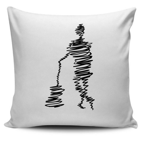 Guitar Sketch Ultra Cotton Pillow Cover