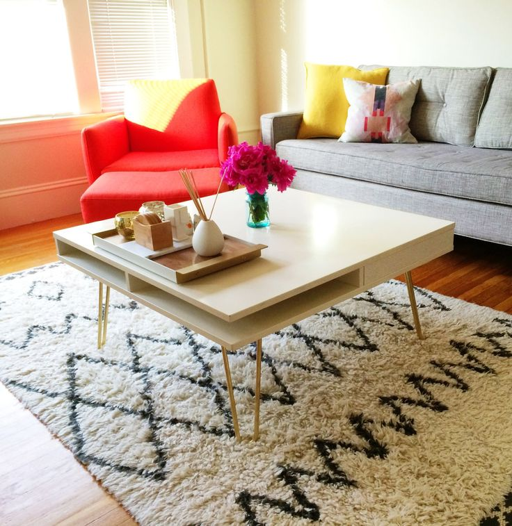 Sophisticated Modern Coffee Table