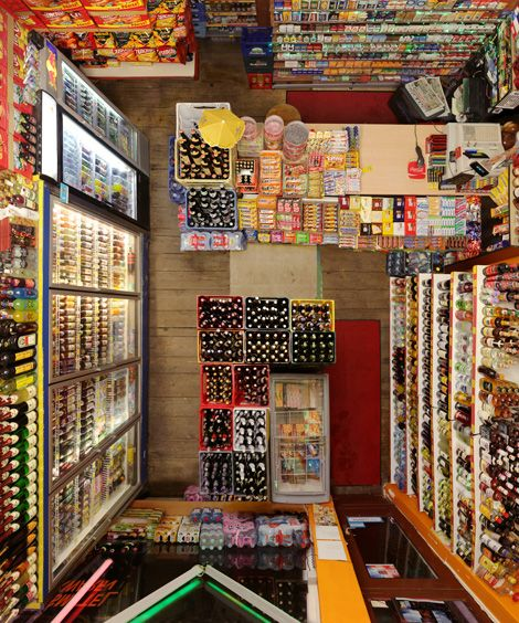 From above - drinks: Interior, Art, Menno Seams, Birds Eye View, Photography, Rooms