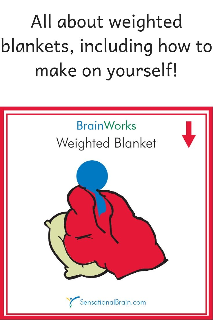 Pin By Sensational Brain On Sensory Activities Sensory Activities Weighted Blanket Making A Weighted Blanket