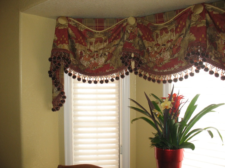 155 Best Window Treatments  Valance And Curtains Images On Alluring Dining Room Valances Design Ideas