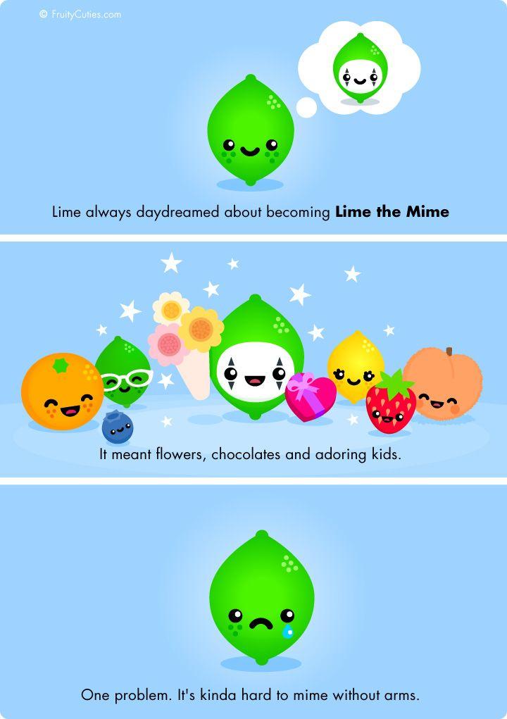 49 best fruity cuties images on pinterest kawaii style - Fruity cuties jokes ...