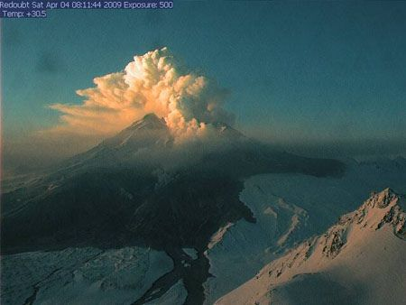 Active Volcanos in the United States