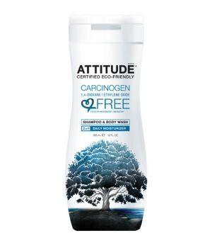 Sampon si gel de dus bio, 355 ml, Attitude - Sabedoria