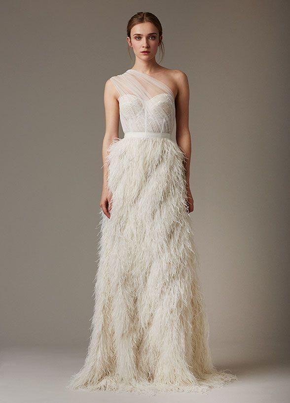 8 hottest trends from bridal fashion week hochzeitskleid