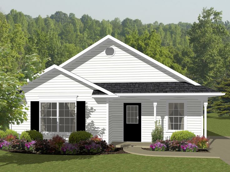 342 best Homes images on Pinterest | Small home plans, Small house ...