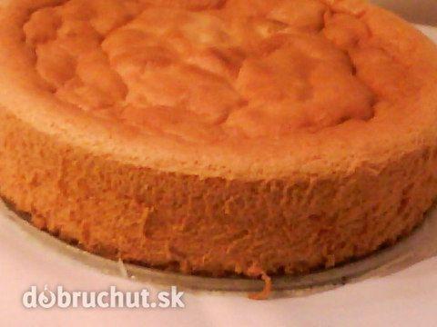 Fotorecept: Tortový korpus bez oddeľovania vajec