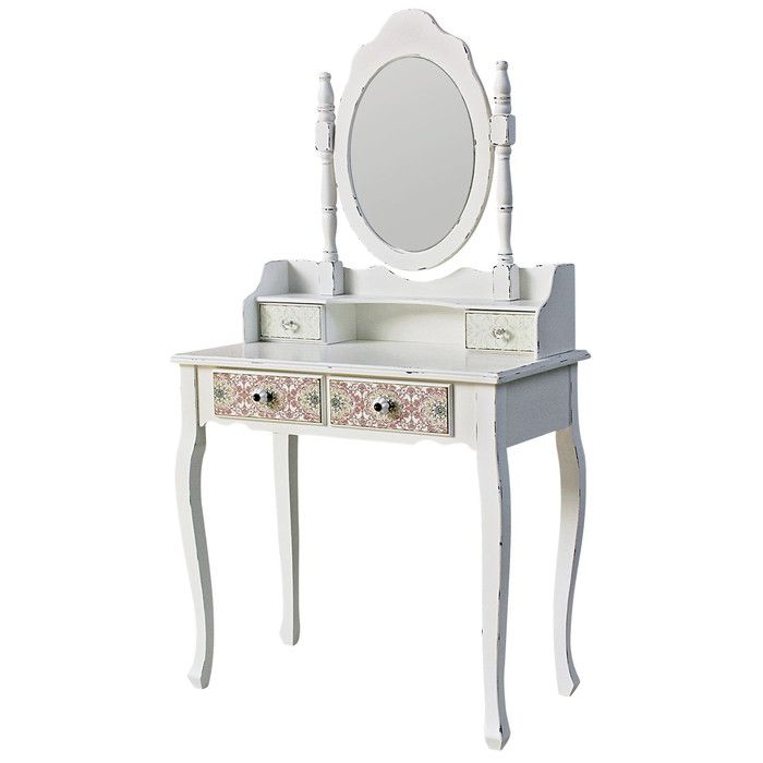 ChâteauChic Paisley Dressing Table with Mirror & Reviews   Wayfair UK