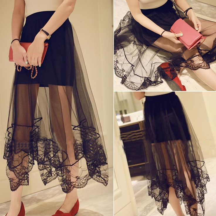 Cheap Skirts on Sale at Bargain Price, Buy Quality Skirts from China Skirts Suppliers at Aliexpress.com:1,Decoration:Appliques 2,Waistline:Dropped 3,Fabric Type:Chiffon 4,Pattern Type:Solid 5,Dresses Length:Mid-Calf