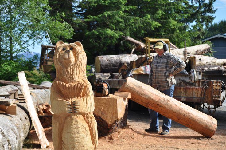 Woody bear - Ketchikan Alaska