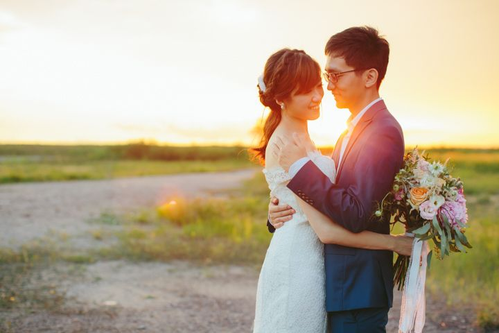 Styled shoot // Romantic and rustic woods: