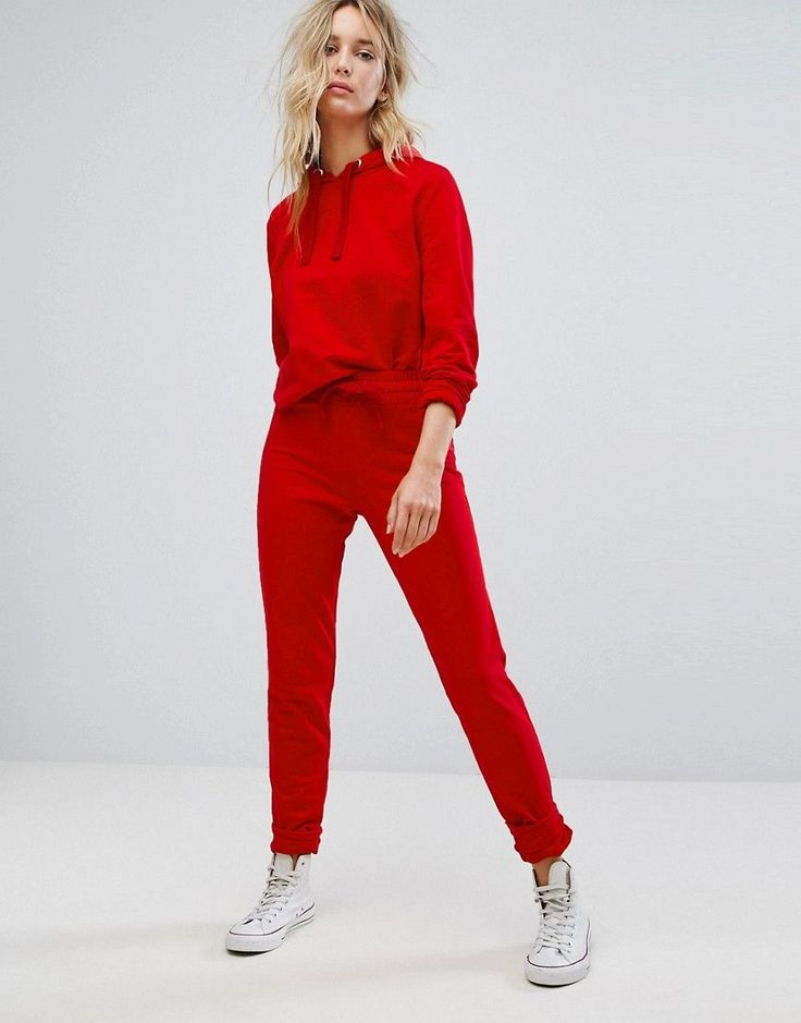 Buy it now. ASOS LOUNGE Jogger - Red. Sweatpants by ASOS Collection, Soft-touch sweat, Drawstring waistband, Fitted cuffs, Regular fit - true to size, Machine wash, 70% Cotton, 30% Polyester, Our model wears a UK 8/EU 36/US 4 and is 173cm/5'8� tall. Score a wardrobe win no matter the dress code with our ASOS Collection own-label collection. From polished prom to the after party, our London-based design team scour the globe to nail your new-season fashion goals with need-right-now dresses…