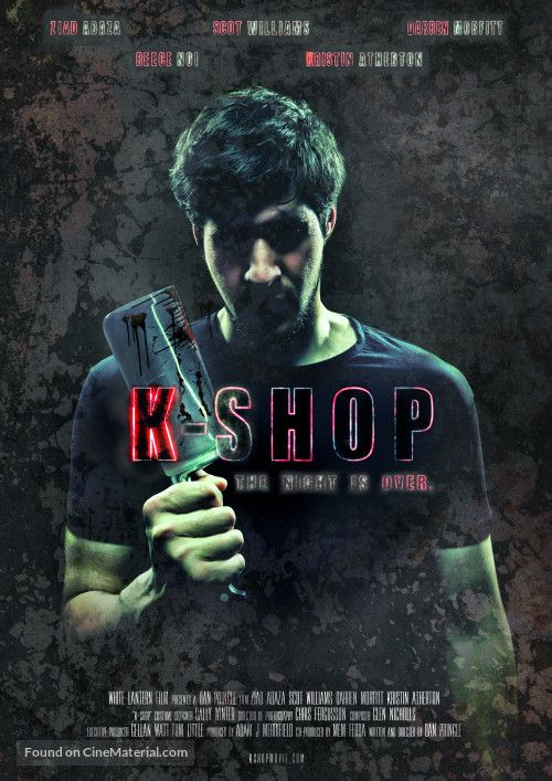 K-Shop. British horror movie about a serial killer who works at a kebab shop. Read more: http://www.celluloiddiaries.com/2016/11/k-shop-q.html (K-Shop, British horror, English horror films, serial killers, horror movies about serial killers, British serial killers, horror films about serial killers, English horror movies)