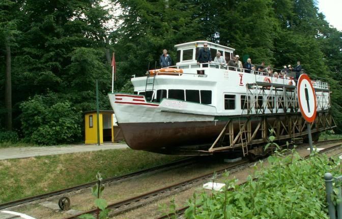 Private Sailing Tour of Elblag Canal Sailing up and down the hill. Warmia-Mazury #Poland - LocalGuiding.com