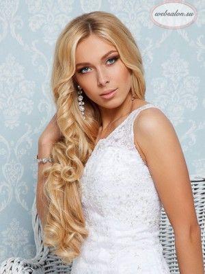 wedding hair by websalon / свадебная прическа от стилистов Вебсалона