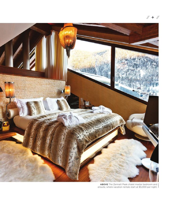 Chalet Zermatt Peak features in Homes and Living magazine May 2015 edition