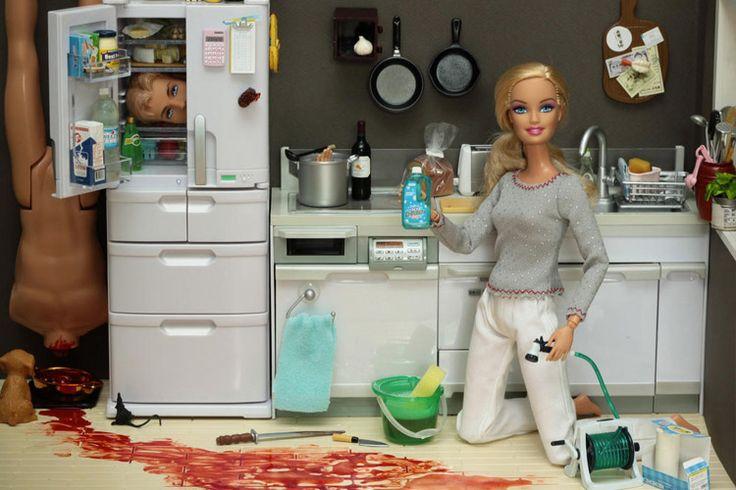 Mariel Clayton Photographs The Dark Side of Barbie Dolls (NSFW) :http://art-sheep.com/mariel-clayton-photographs-the-dark-side-of-barbie-dolls-nsfw/
