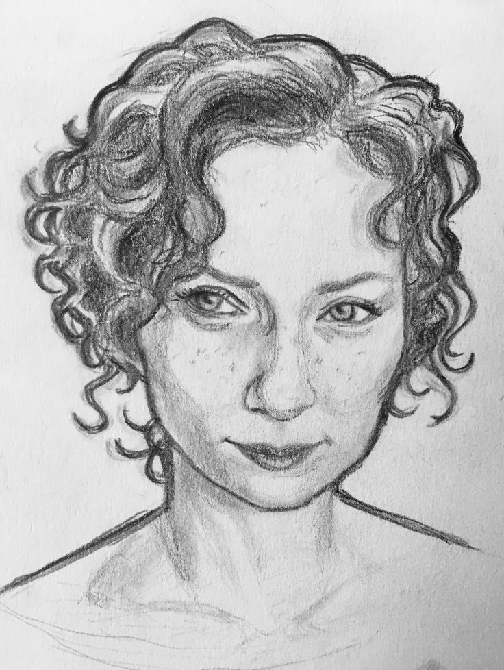 Learning to draw so sketch from photo of Eleanor Tomlinson (Demelza). My hair drawing sucks as you can see. Anni Vilna