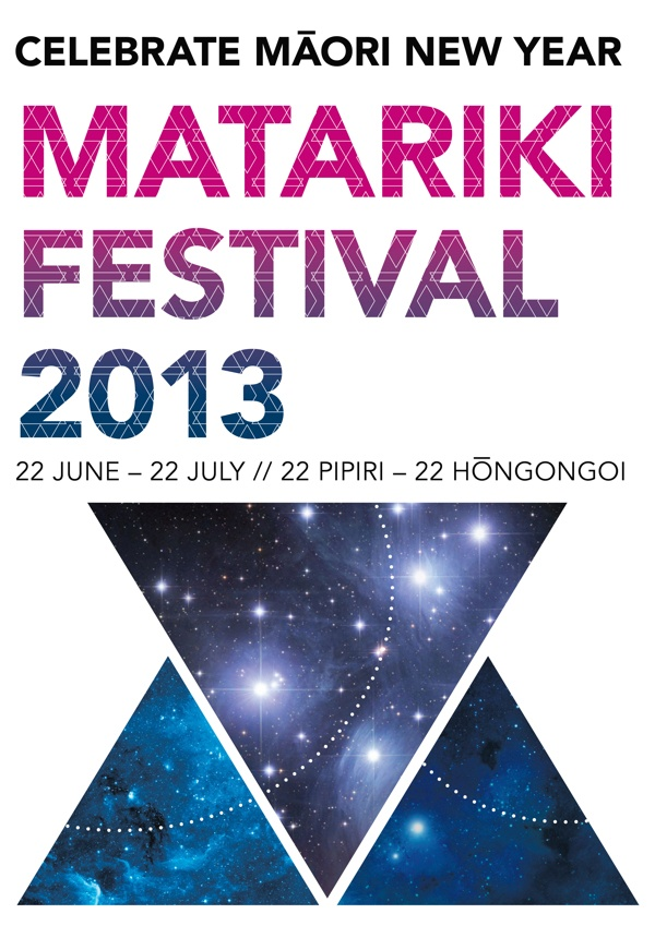 Matariki Festival // Layout Design by Gandhali Bapat, via Behance