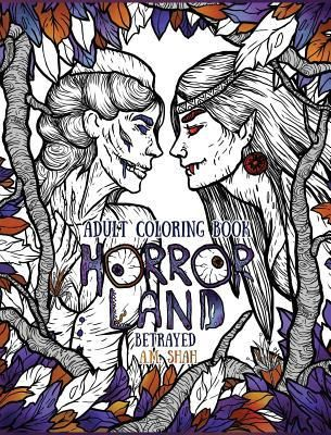 Find Adult Coloring Book Horror Land - by A. M. Shah ( 9781943684786 ) Hardcover and more. Browse more  book selections in Coloring Books books at Books-A-Million's online book store