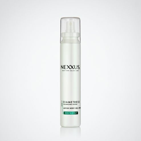 Lavish Body Gel Spray with Green Tea Extract creates all-over volume while fortifying your style with the strength it needs to last.