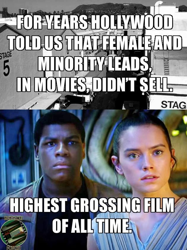"""Gonna leave this here."" - The diversity in Star Wars: The Force Awakens"