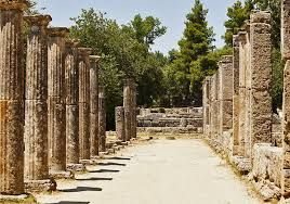 Olympia, Greece. The original site which has been somewhat battered by a few earthquakes
