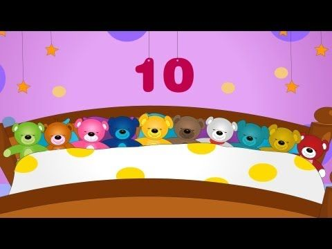 Ten in the bed-Nursery Rhyme with Lyrics - YouTube