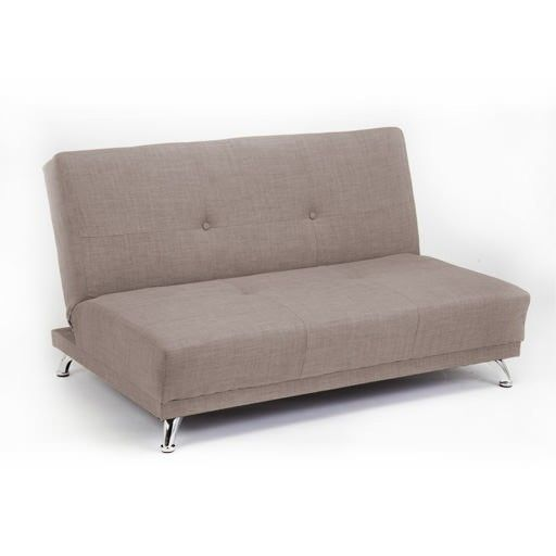 Light Grey 2 Seater Convertible Clic Clac Childrens Sofa Bed