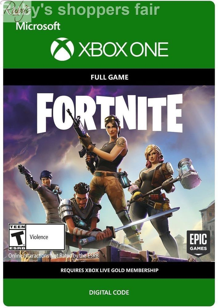 Fortnite xbox one physical