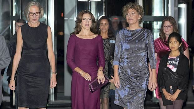 Queens & Princesses - Princess Mary attended the event in honor of 200 years of compulsory education in Denmark, which was held in Copenhagen.