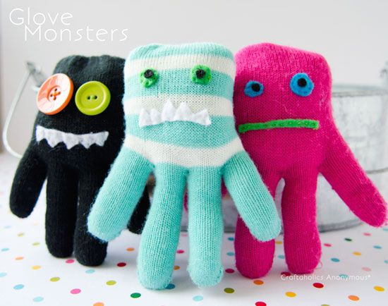 monsters from gloves