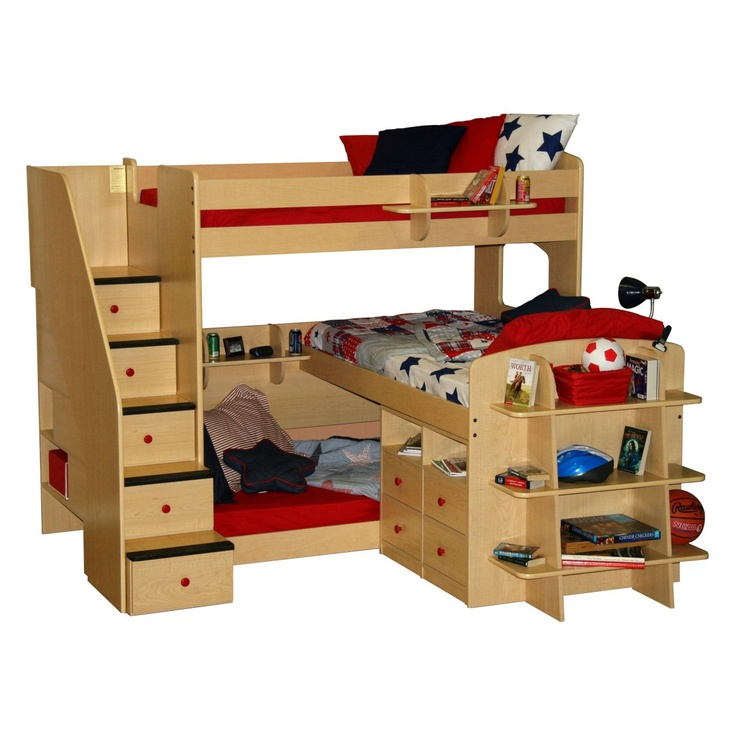 Have to have it. Twin over Full Bunk Bed 1149