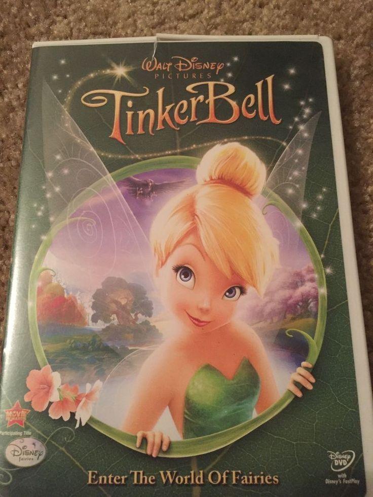 Disney Tinkerbell DVD; Kids Movie