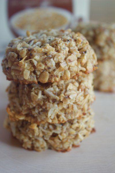 Coconut Oat Breakfast Cookies {gluten-free, date-sweetened}