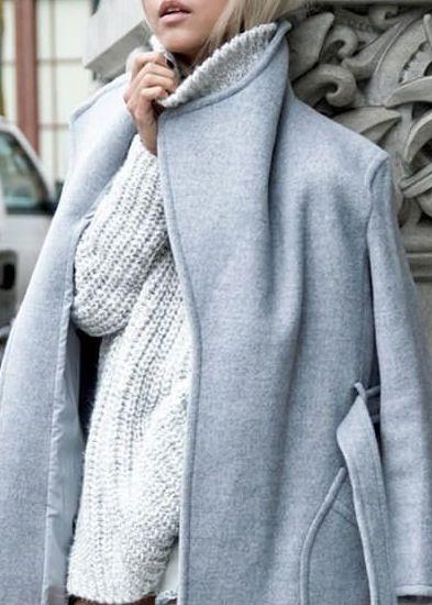 cozy gray layers
