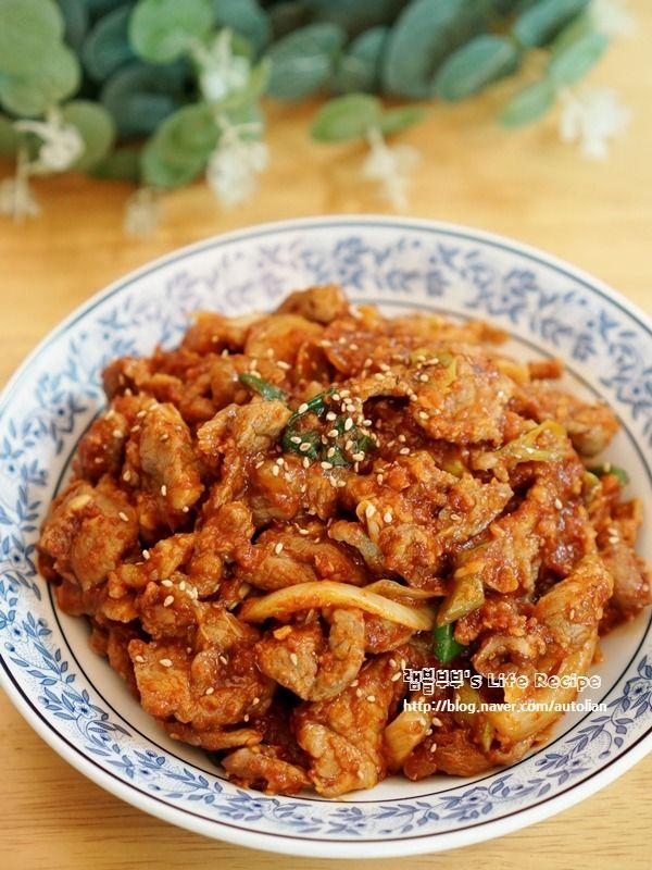 차승원 제육볶음 레시피 쉽고 맛있게 뚝딱♥ – 레시피 | Daum 요리