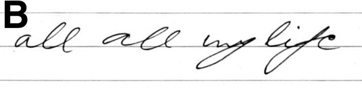 Handwriting analysis reveals whether the writer is intelligent, fast or slow talker or an impatient person. It also reveals how he will react in a situation