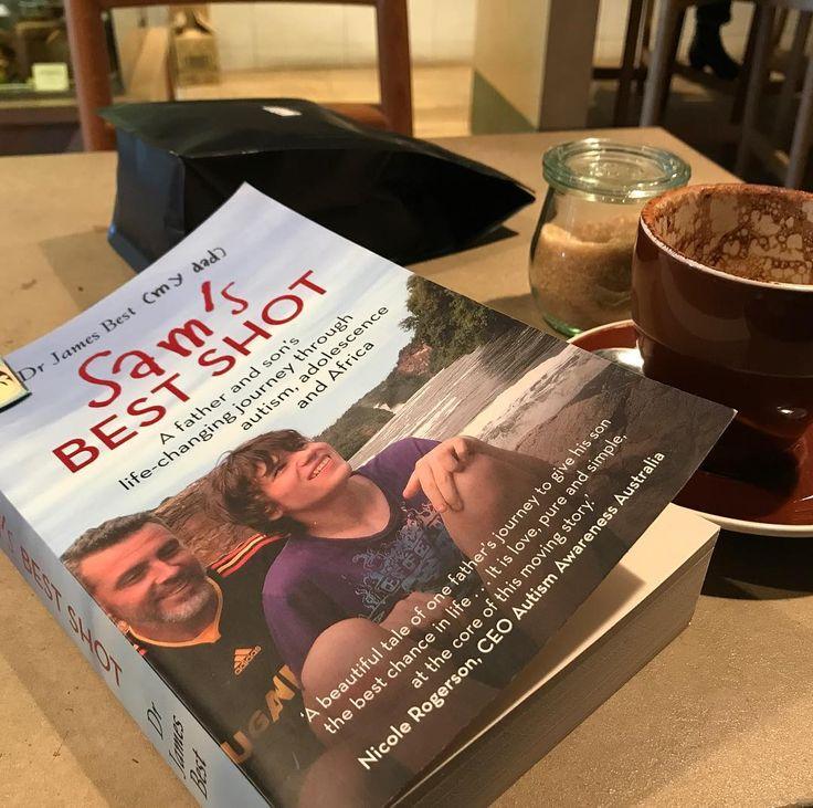Coffee break #reading #samsbestshot #autism
