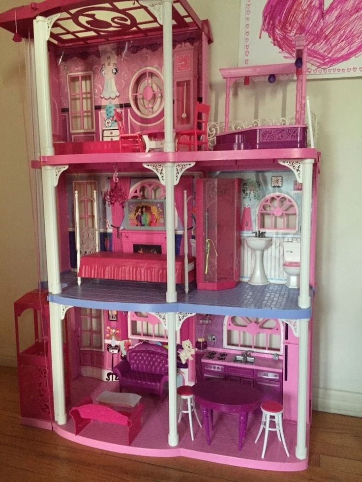 Barbie House With Elevator – House Plan 2017