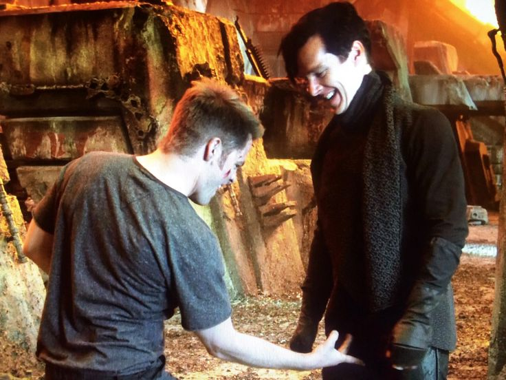 Star Trek Into Darkness (2013) Captain Kirk (Chris Pine) should really leave the Vulcan Nerve Pinch to Spock. Rather than rendered unconscious, John Harrison *cough* Khan! (Benedict Cumberbatch) seems amused.