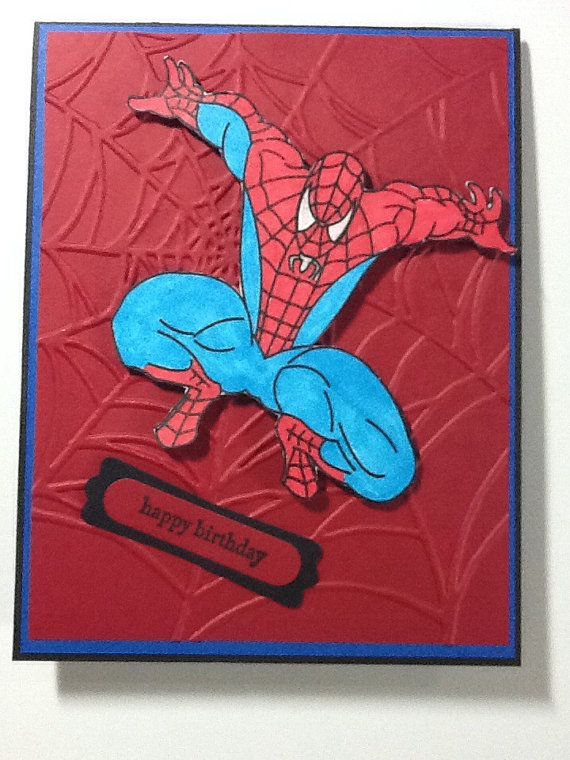 1000+ images about Spiderman cards on Pinterest | Super ...