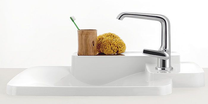 Axor bouroullec sink faucet axor ronan erwan for Bathroom designs 8x7