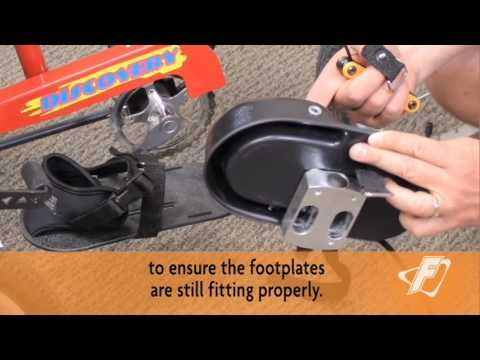 Rigid Footplate Strap Replacement Video for Freedom Concepts Adaptive Tricycles