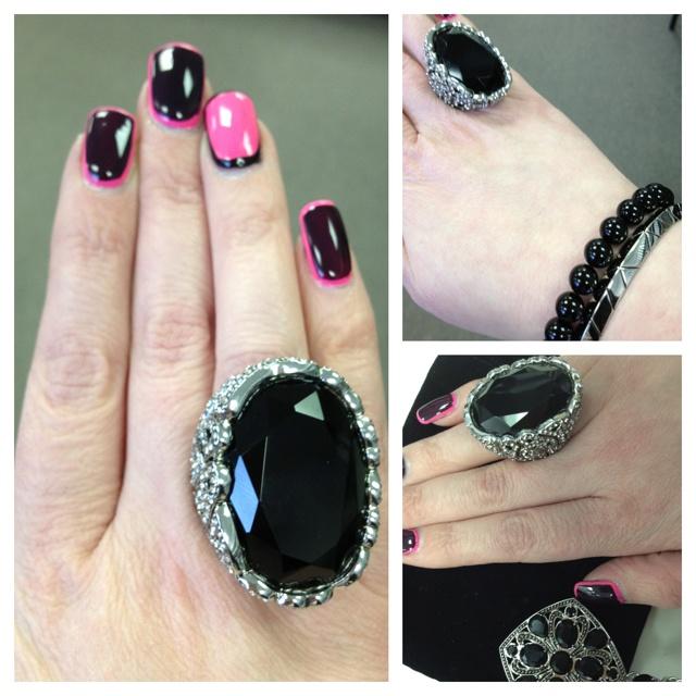 Samantha Wills Safari Nights ring & Belvedere necklace