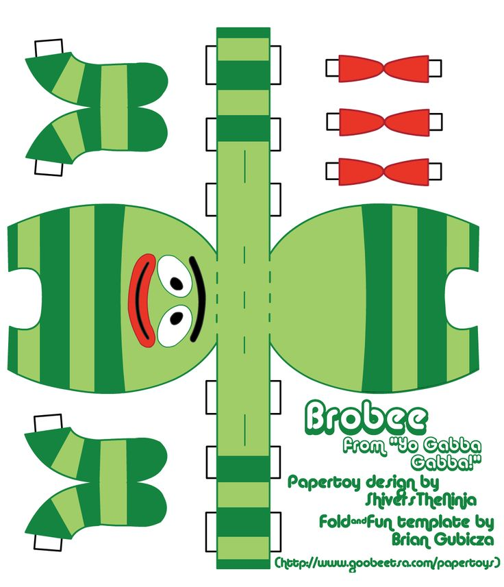 brobee print out