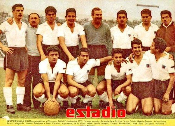 Colo Colo of Chile in 1957.